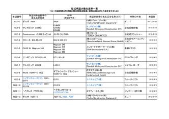 2011年少数特例基準適合車) [PDF 167KB]