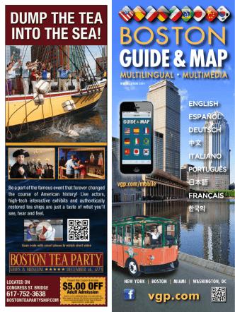 Boston, massachusetts - Visitor Guide Publishing