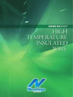 耐熱電線 製品カタログ - 二宮電線工業株式会社
