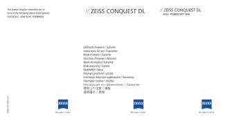 // Zeiss CONQUesT DL