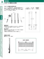 SLポール・親綱支柱(鉄製) 建方資材