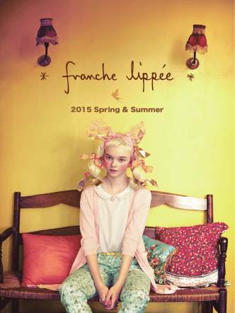 2015 Spring & Summer - franche lippee official homepage