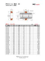 ダストシール 型式:DH (LBI タイプ互換品
