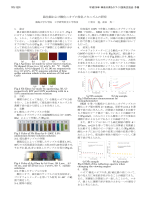 硫化銀および酸化ニオブの発色メカニズムの研究