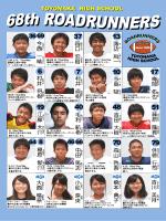 メンバー表(選手他顔写真入り)