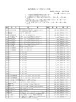 臨時調査単価表(平成26年10月分から)(PDF 306KB