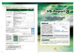 VB-Report 8 カタログ(PDF)
