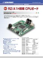 RZ/A1H搭載 CPUボード