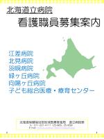 看護職員募集パンフレット(PDF);pdf