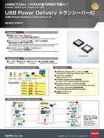 USB Power Delivery トランシーバーIC