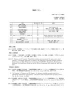 業績リスト - Software Reliability Engineering Laboratory