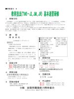 教育技法(TWI-JI、JM、JR)