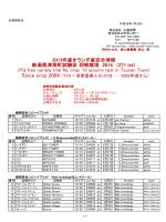 新潟県津南町試験区 抑制栽培 2014 (271 lot) (PQ free