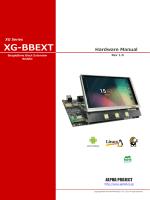 XG-BBEXT ハードウェアマニュアル
