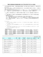 国家公務員宿舎の削減計画等に基づき処分等が予定される財産(PDF