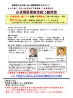 小規模事業者持続化補助金 URL:http://www.jizokukahojokin.info;pdf