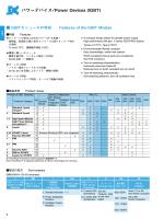パワーデバイス/Power Devices (IGBT)