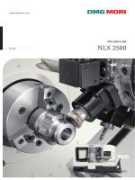 NLX 2500 - DMG MORI 製品情報サイト
