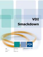 VDI Smackdown - デスクトップ仮想化ポータル