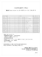 マイクロカテーテル - 東海メディカルプロダクツ