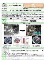 セミドライ加工装置と環境型セミドライ切削油剤 フジBC技研株式会社
