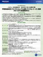 早期償還条項付 円/ブラジルレアル参照 デジタル・クーポン