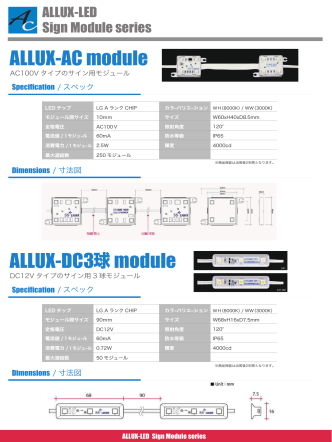 ALLUX-AC module ALLUX