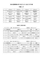 第35回静岡県中学1年生サッカー大会・クラブの部 予選リーグ
