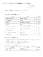 リョービ(株) 2015年4月1日付 人事異動・機構改革/4月16日付 人事異動