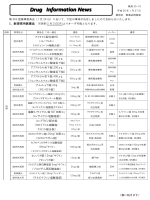 薬事委員会の結果(平成26年1月28日)