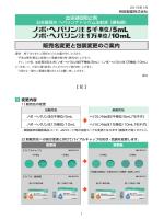 販売名変更と包装変更のご案内 PDFファイル