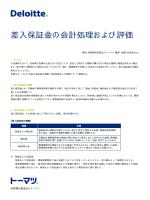 差入保証金の会計処理および評価