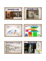 MRI検査室の概観