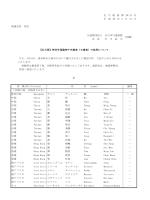地連会長 各位 公益財団法人 全日本弓道連盟 会 長 石 川 武 夫 さる、4