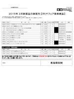 東海模型 2015年 2月新製品の御案内 【タミヤフェア発表商品】