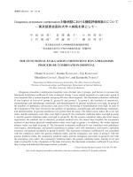 Diagnosis procedure combination対象病院における機能評価係数Ⅱ