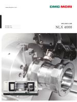 NLX 4000 - DMG MORI 製品情報サイト
