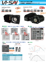 25M pixel CMOS 搭載 世界最速・超高解像度カメラシリーズ