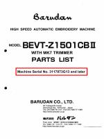 MODELBEVT・Z1501CBⅡ