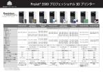 ProJet 3500シリーズ スペック