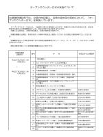 オープンカウンター方式の実施について 札幌開発建設部では、少額の