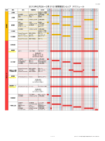 2015年2月28~3月31日 期間限定ショップ スケジュール