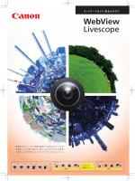 ネットワークカメラ総合カタログ 掲載日 2014年11月21日(更新)