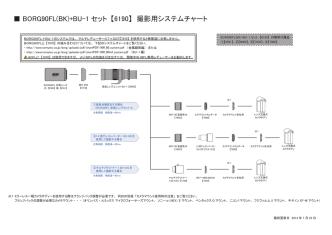 BORG90FL(BK)+BU-1 セット 【6190】 撮影用システムチャート
