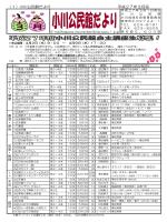 (1)小川公民館だより 平成27年3月号