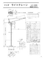 マツダ ライトクレーン マツダ ライトクレーン LC-1000