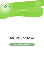 GW-300S KATANA - プラネックスコミュニケーションズ