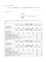 フロン類充填量及び回収量等に関する報告書