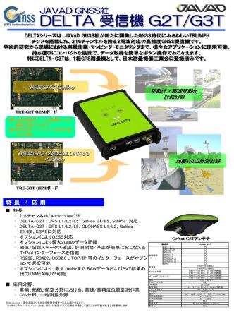 DELTA 受信機 G2T/G3T