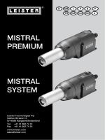 MISTRAL PREMIUM MISTRAL SYSTEM
